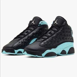 Air Jordan 13 Retro GS 'Island Green'